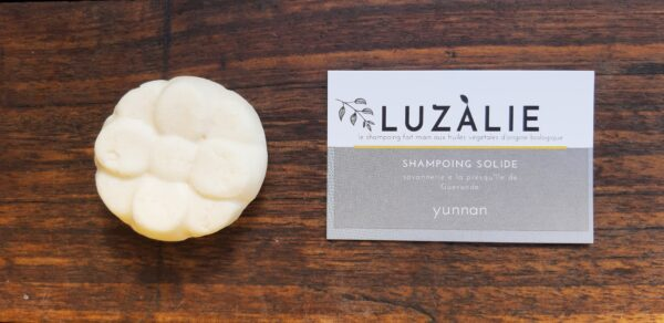 Vrac Is Back - Le shampoing solide LUZÀLIE  YUNNAN sans emballage 35g -